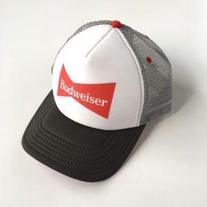 Vintage Style Budweiser Snapback Hat Cap